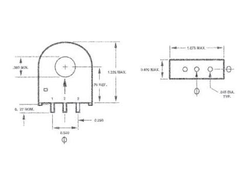 Triad Magnetics CST206-3T Current Transformer