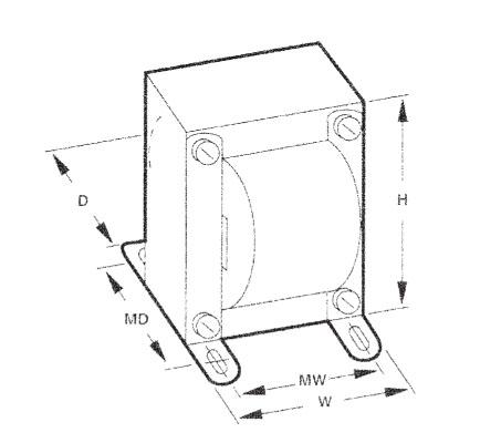 Triad Magnetics F-273U Transformer