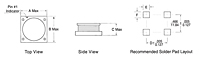 Outline Dimensions - AX97 Series SMD Power Shielded Inductors (AX97-403R3)